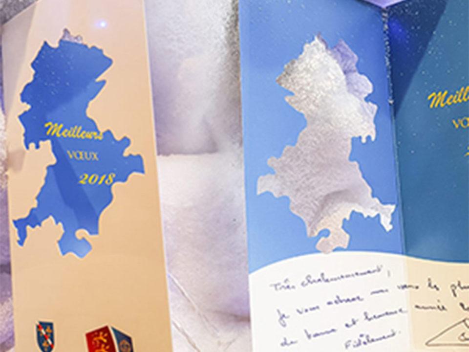 carte de voeux evreux