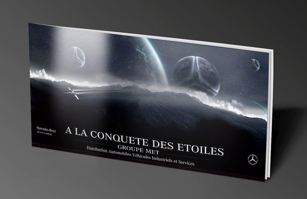 """Brochure """"Mercedes"""""""