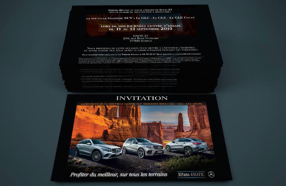 "Invitation ""Mercedes"""