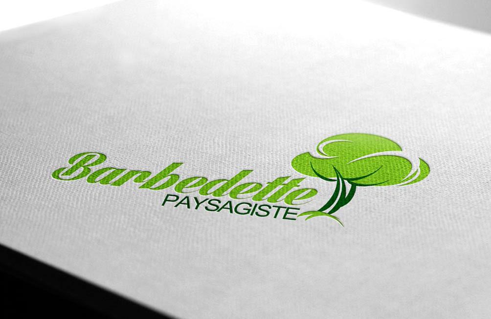 "Logo ""Barbette Paysagiste"""