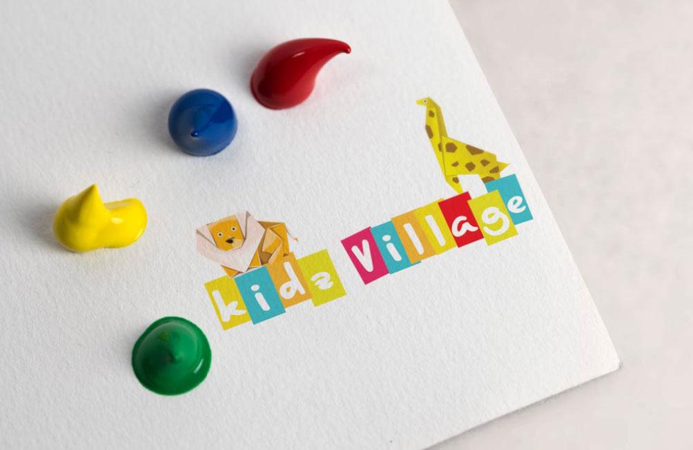 """Logo """"Kidz Village"""""""