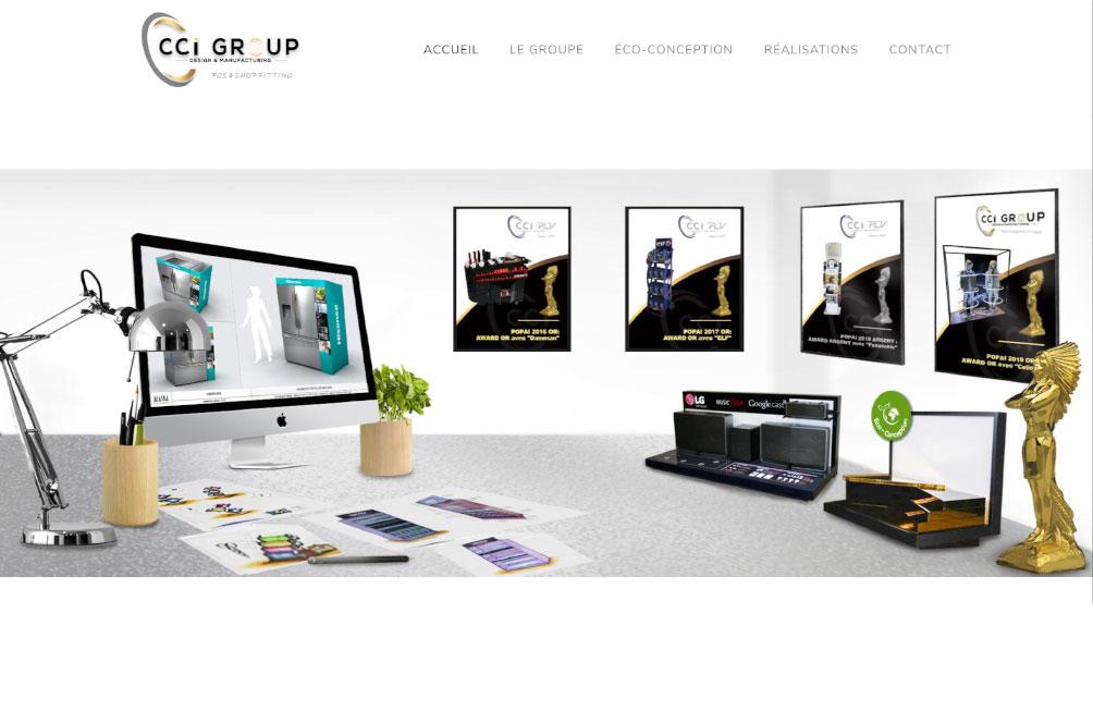 site internet cci group