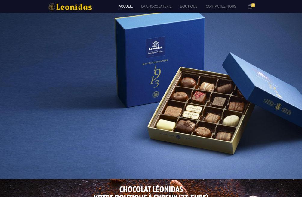 site internet leonidas evreux