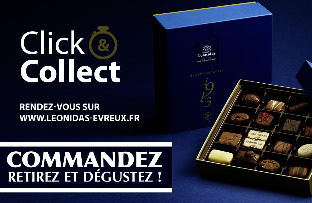 """Opération Click & Collect """"Léonidas Évreux"""""""