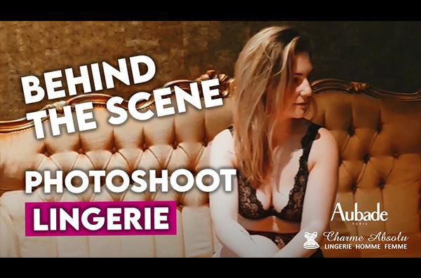 Dans les coulisses d'un photoshoot lingerie