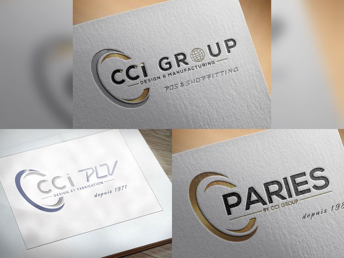 Logos CCI GROUP